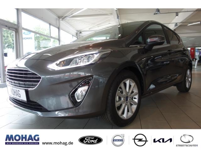 Ford Fiesta Titanium*Automatik*Navi*DAB*SZH*Key-Free System, Jahr 2020, Benzin