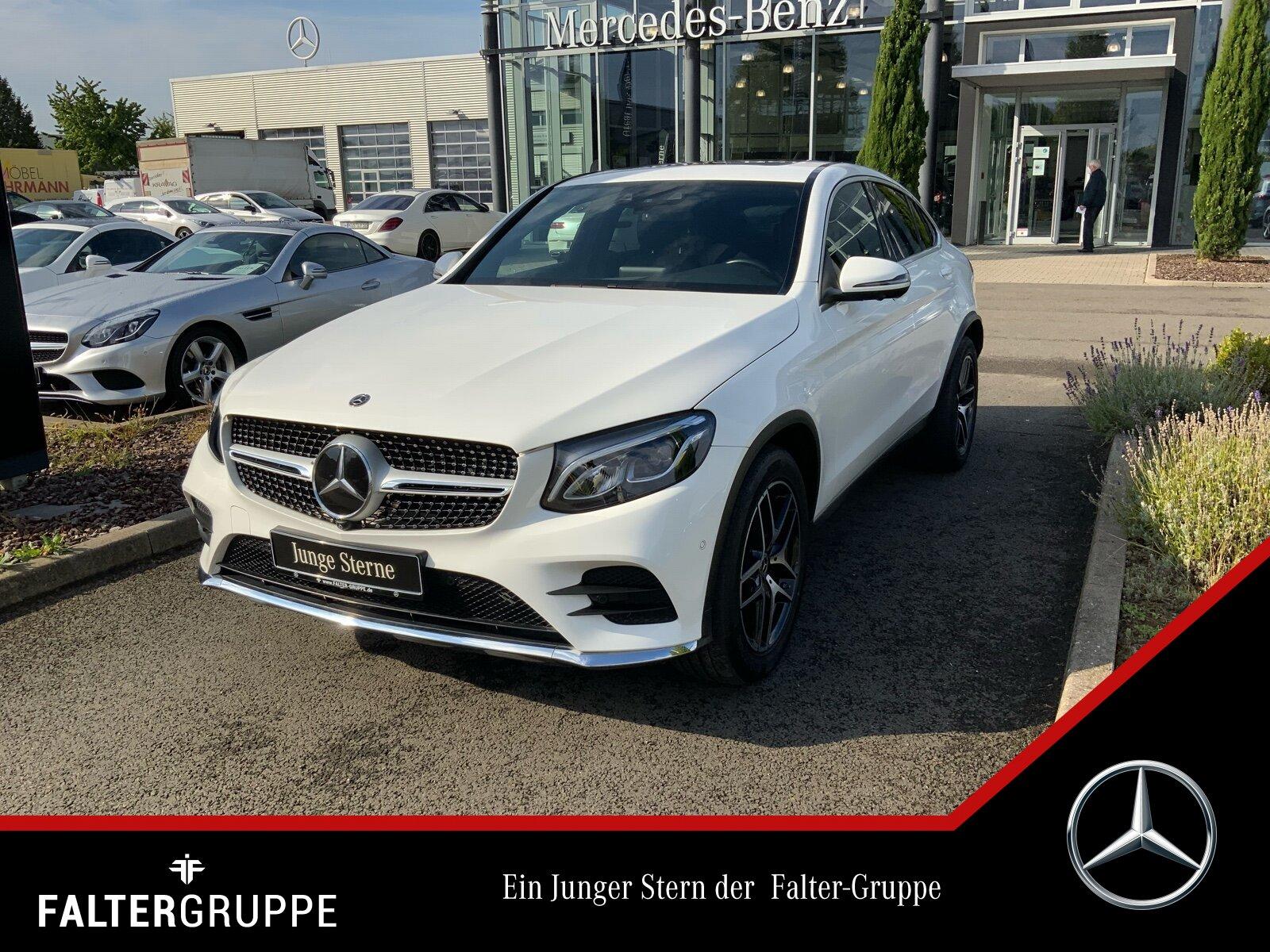 Mercedes-Benz GLC 300 Cpé AMG Standhzg DISTRO Navi GSD 360°LED, Jahr 2017, Benzin