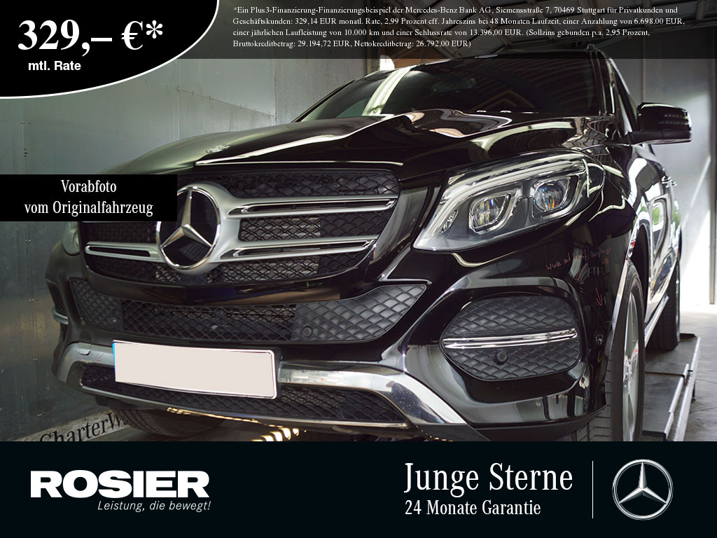 "Mercedes-Benz GLE 250 d 4M AHK ILS Comand PTS 19"" AHK LED Navi, Jahr 2016, diesel"