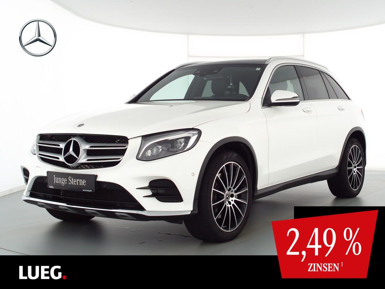 Mercedes-Benz GLC 250 4M AMG+COM+Pano+Burm+LED-ILS+20+Sthzg+RK, Jahr 2018, Benzin