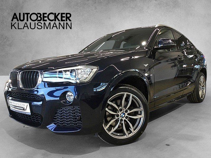 BMW X4 xDrive20d M Sport Automatik Navi Head Up Leder Kamera, Jahr 2016, Diesel
