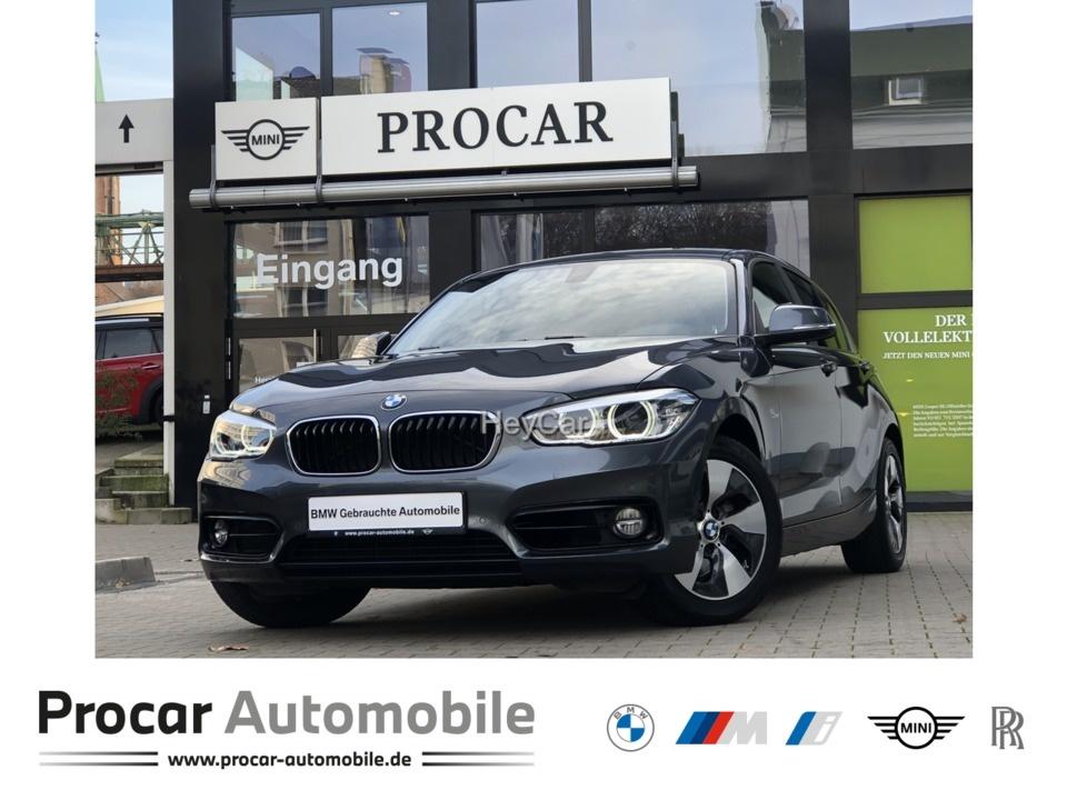 BMW 120i Sport Line Sport Aut. Navi HiFi LED Glasda., Jahr 2017, Benzin