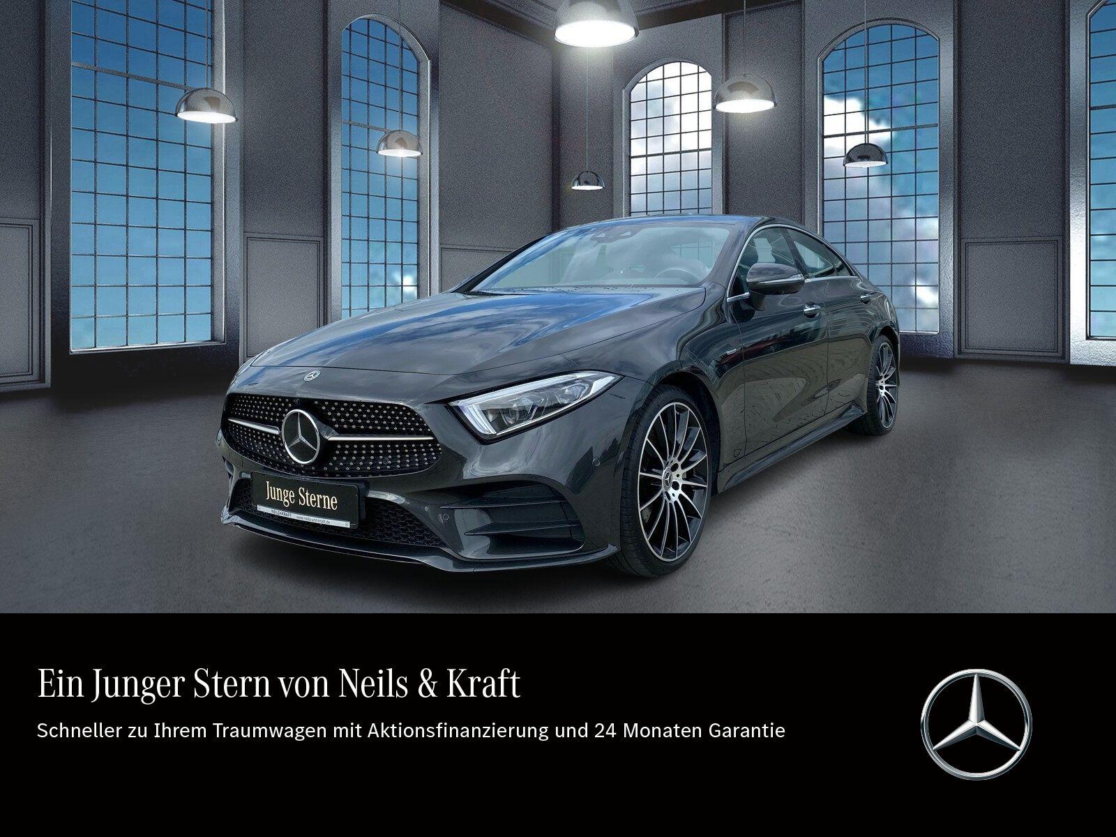 Mercedes-Benz CLS 400d 4M AMG+MULTIBEAM+FAHRASSIST+LUFTFEDER++, Jahr 2018, Diesel
