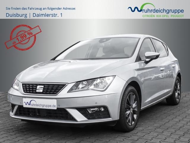 Seat Leon Style 1.5 TSI Navi+PDC+BT+KlimaAT+FSE+Tempomat, Jahr 2019, Benzin