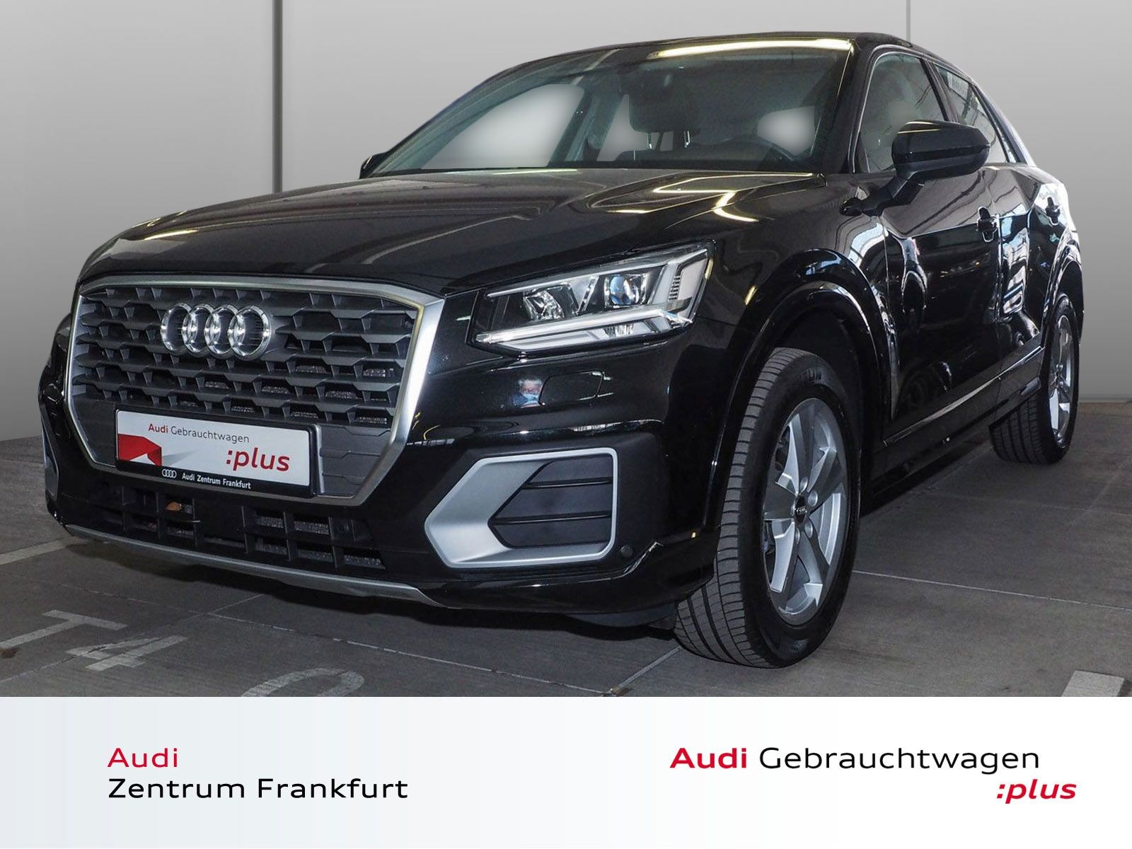 Audi Q2 1.4 TFSI Sport S tronic LED AHK Navi PDC Bluetooth, Jahr 2018, Benzin