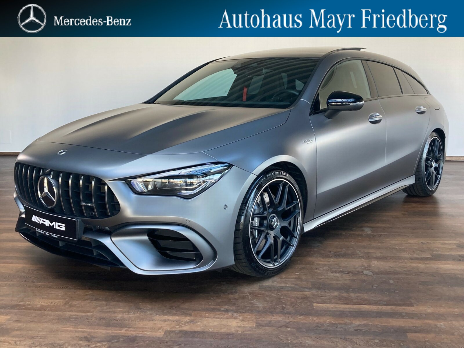 Mercedes-Benz CLA 45 4MATIC+ SB NIGHT+AHK+PANO-DACH+360°+MBUX, Jahr 2020, Benzin