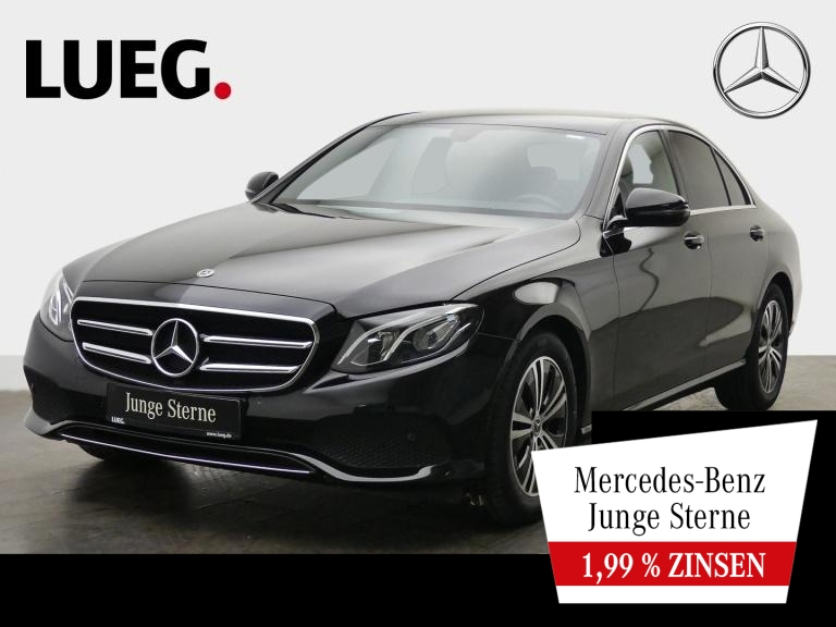 Mercedes-Benz E 200 Avantgarde+Navi+LED-HP+Totw+CarP+ParkA+RFK, Jahr 2020, Benzin