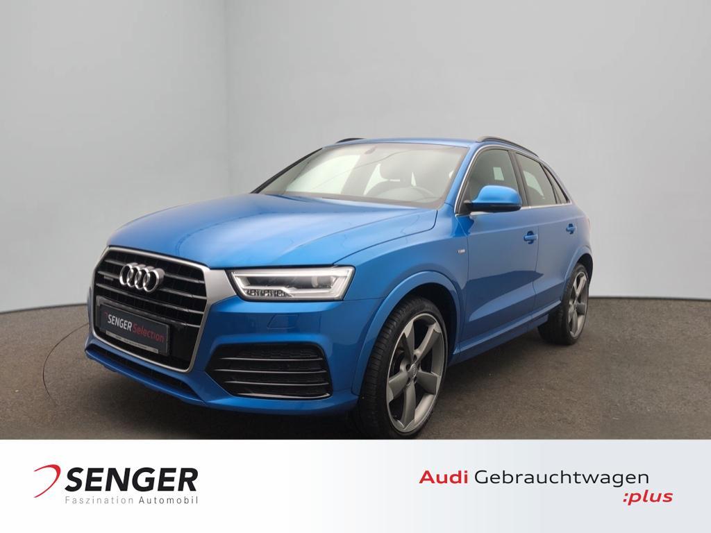 Audi Q3 2.0 TDI quattro Automatik S line Navi LED, Jahr 2016, Diesel