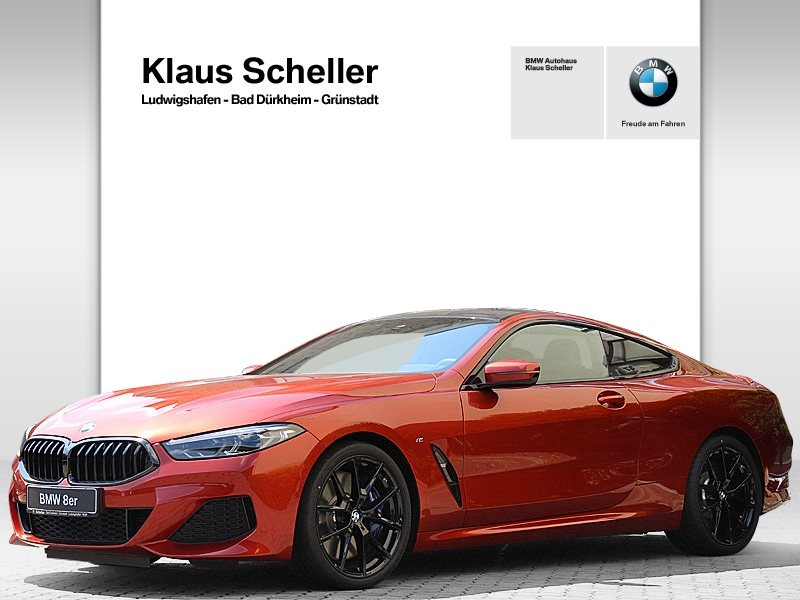BMW 840d xDrive MTechnic Sportpaket Carbondach Laser, Jahr 2020, Diesel
