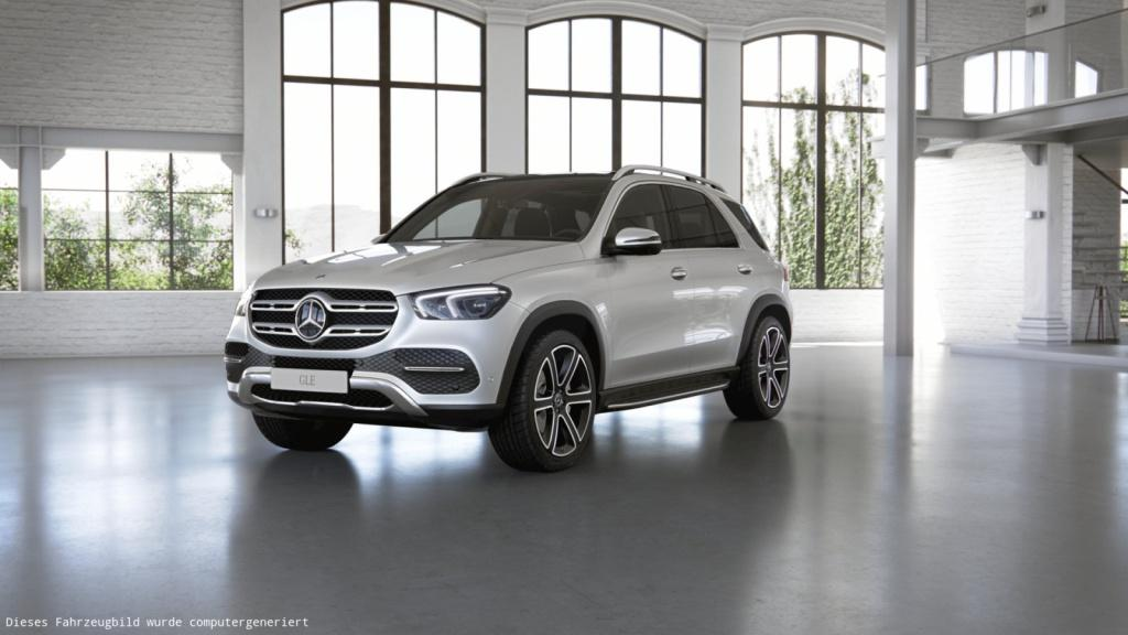 Mercedes-Benz GLE 400 d 4MATIC Distronic/Pano.-Dach/360°/LED, Jahr 2019, Diesel
