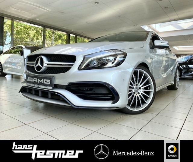 Mercedes-Benz AMG A 45 4M, 19'', Pano-D., R.-Kamera, Klimaaut, Jahr 2017, Benzin
