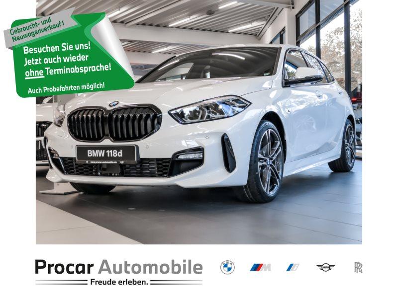BMW 118d M Sport Head-Up LED 18 Zoll Nav Prof., Jahr 2021, Diesel