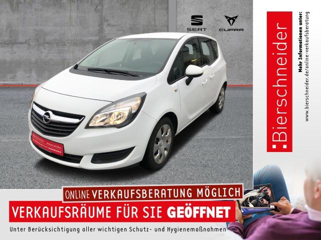 Opel Meriva B 1.4 Turbo Edition AHK PDC SHZ, Jahr 2015, Benzin