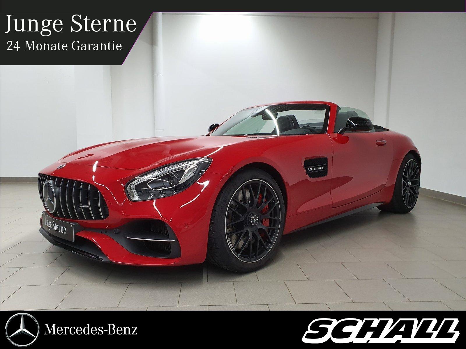 Mercedes-Benz AMG GT C ROADSTER PERF.ABGAS/PERF.SITZE/DISTRONI, Jahr 2017, Benzin