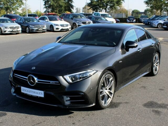 Mercedes-Benz CLS 53 AMG 4M+ DRIVERS.P+HEAD.UP.DISPL+SITZKLIMA, Jahr 2019, petrol