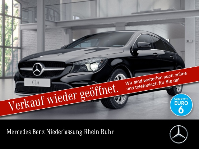 Mercedes-Benz CLA 220 d SB Pano COMAND EDW Laderaump 7G-DCT Temp, Jahr 2016, Diesel