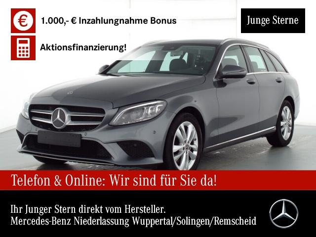 Mercedes-Benz C 180 T Avantgarde Multibeam AHK Kamera PTS Sitzh, Jahr 2019, Benzin