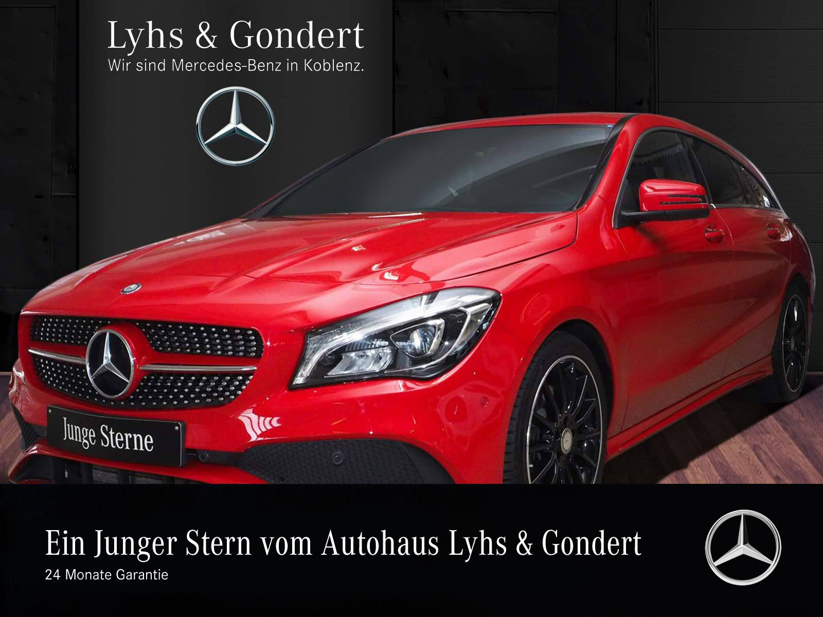 Mercedes-Benz CLA 250 SB AMG*Harman*LED*Memory*Standhz*Keyless, Jahr 2017, Benzin