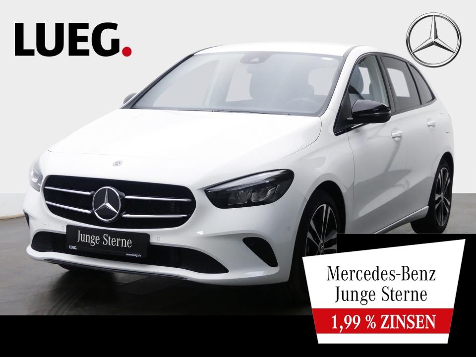 Mercedes-Benz B 250 4M Progressive+MBUX+NavPrm+LED+Sthzg+Distr, Jahr 2019, Benzin