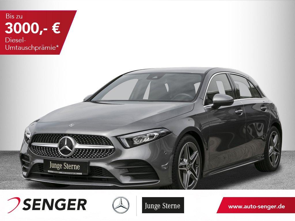 Mercedes-Benz A 180 *AMG*Display digital*Ambiente*LED*Navi*PTS, Jahr 2019, Benzin