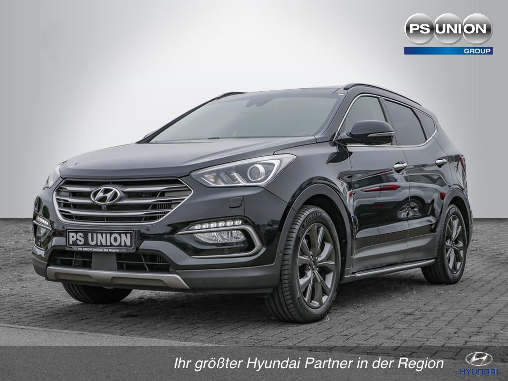 Hyundai Santa Fe 25 Jahre blue 4WD *limitiert*XENON*NAVI*LEDER*, Jahr 2016, Diesel