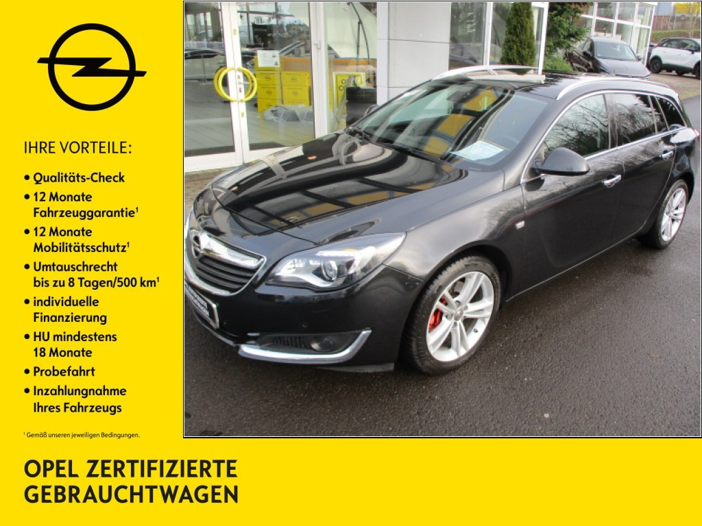 Opel Insignia 2.0 CDTI Sports Tourer Aut. Innovation, Jahr 2015, diesel