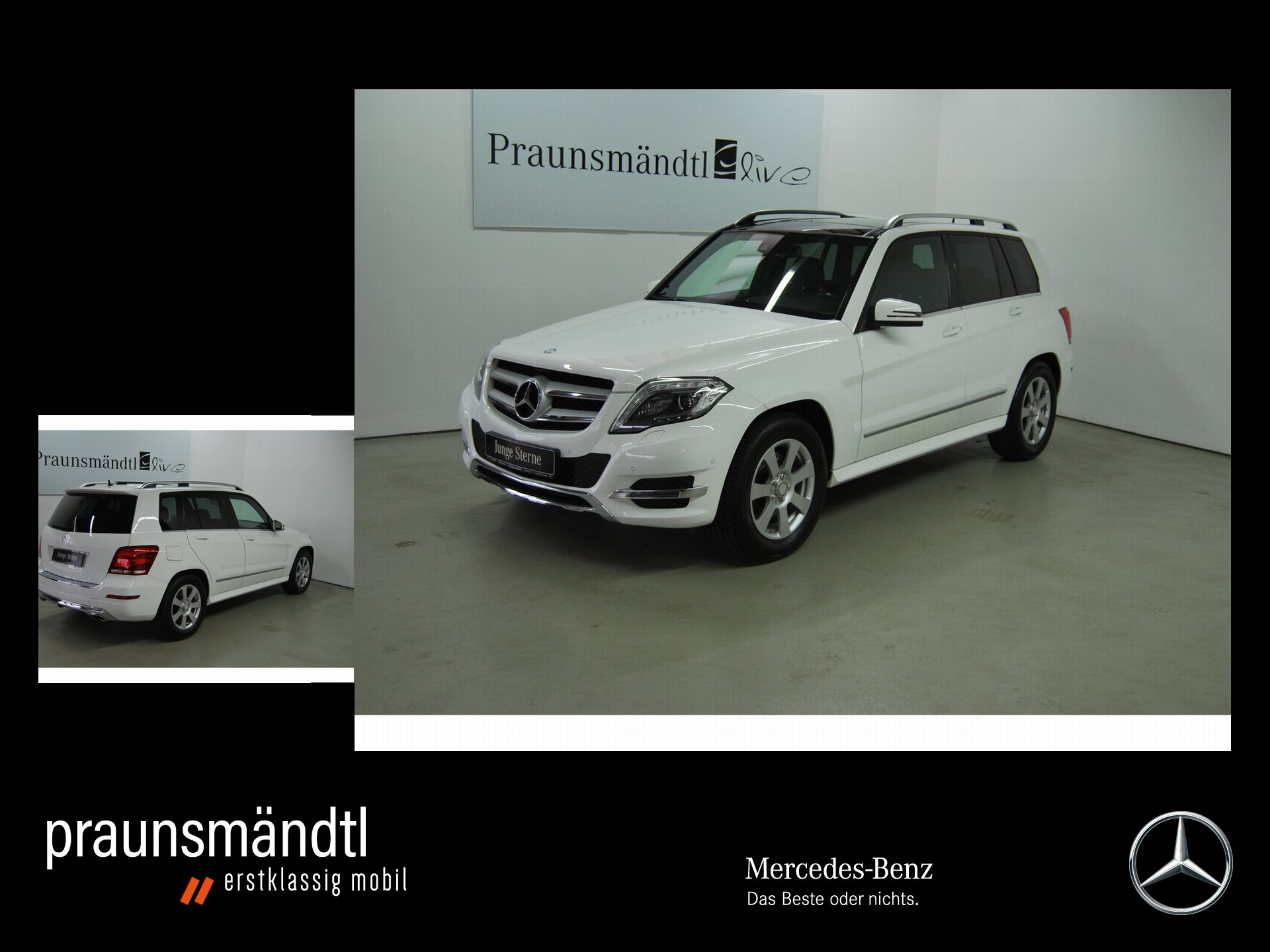Mercedes-Benz GLK 220 CDI 4M 7AG/Coman/AHK/Pano/Kamera/ILS/PTS, Jahr 2015, Diesel
