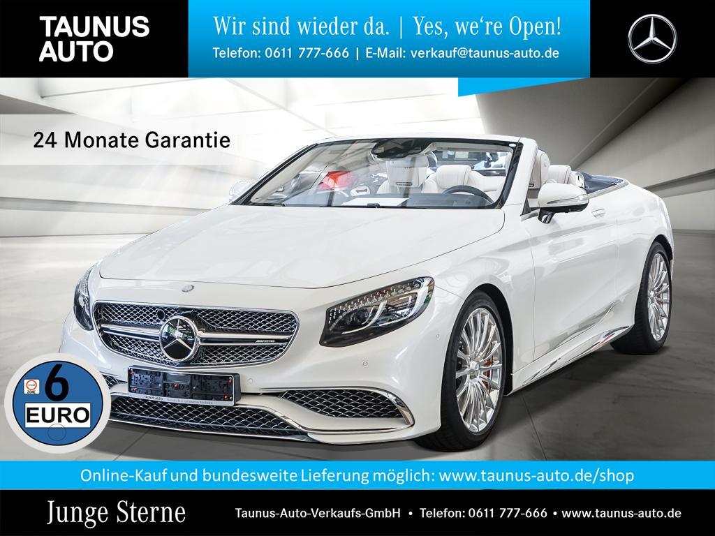 Mercedes-Benz S 65 AMG CABRIO KERAMIK EXCLUSIVE UPE:275.800,-, Jahr 2016, Benzin
