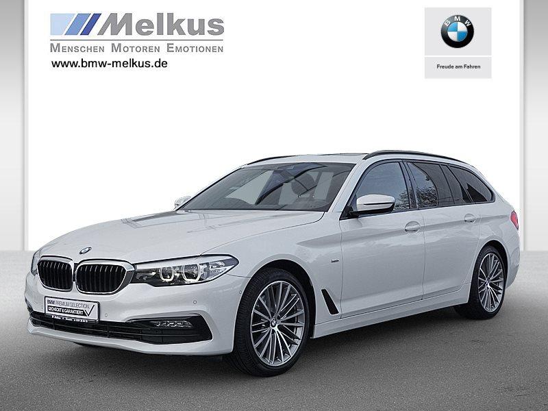 BMW 520d Touring Sport Line Head-Up DAB WLAN Shz, Jahr 2017, Diesel