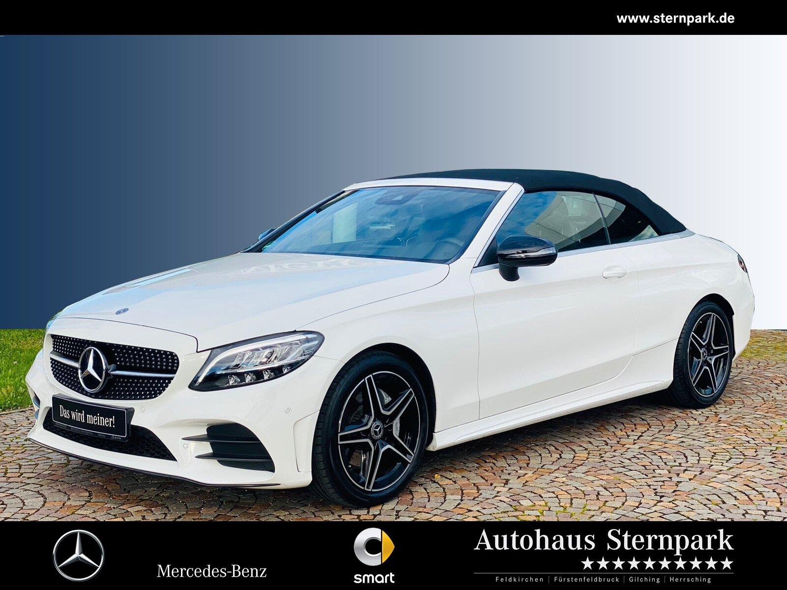 Mercedes-Benz C 200 Cabrio AMG Navi/LED/Night/Kamera/DIGITAL/, Jahr 2018, Benzin
