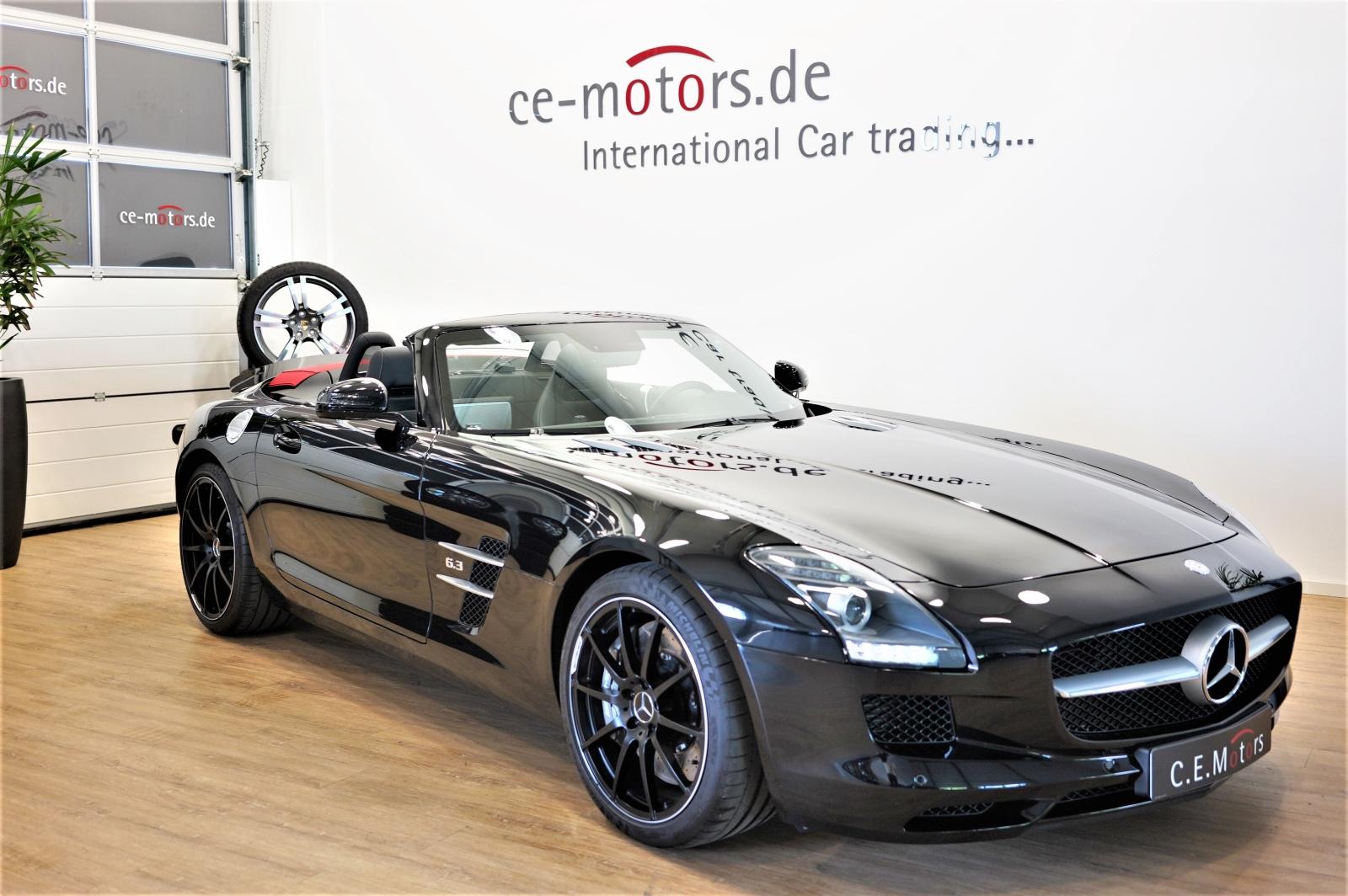 Mercedes-Benz SLS AMG Roadster Speedshift *1-Hand*B&O*Memory, Jahr 2014, Benzin
