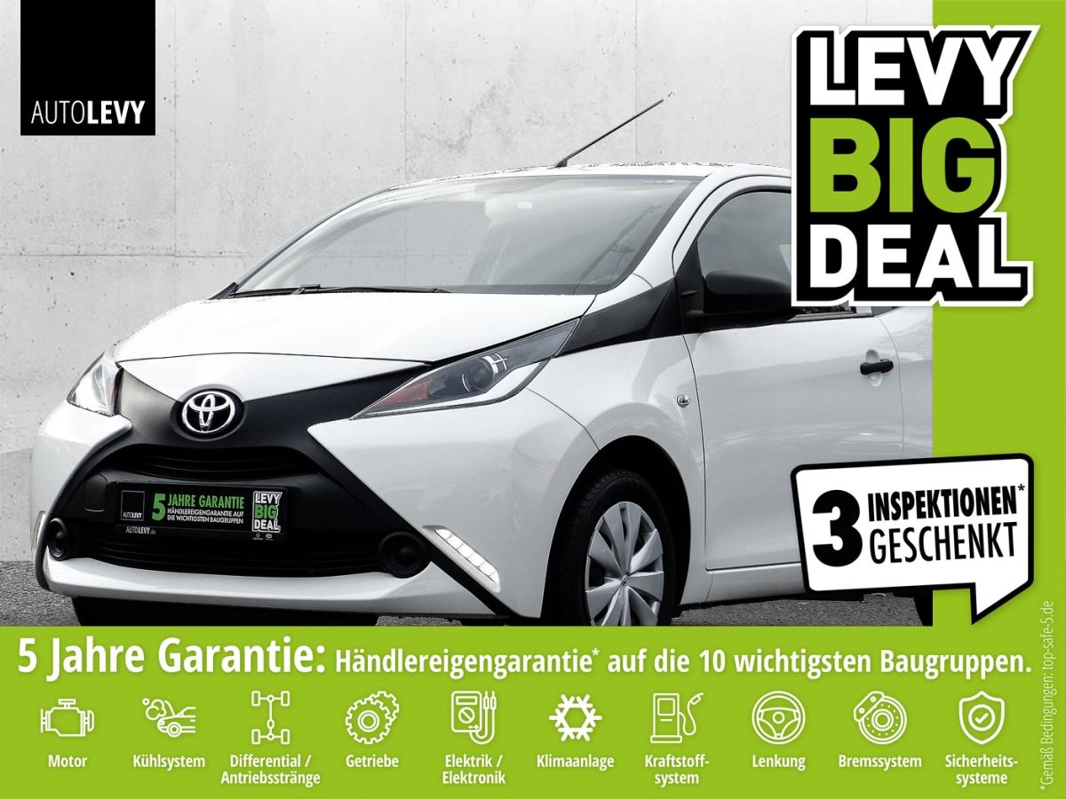 Toyota Aygo x Garantie*USB*Bluetooth*Allwetter*TÜV, Jahr 2017, Benzin