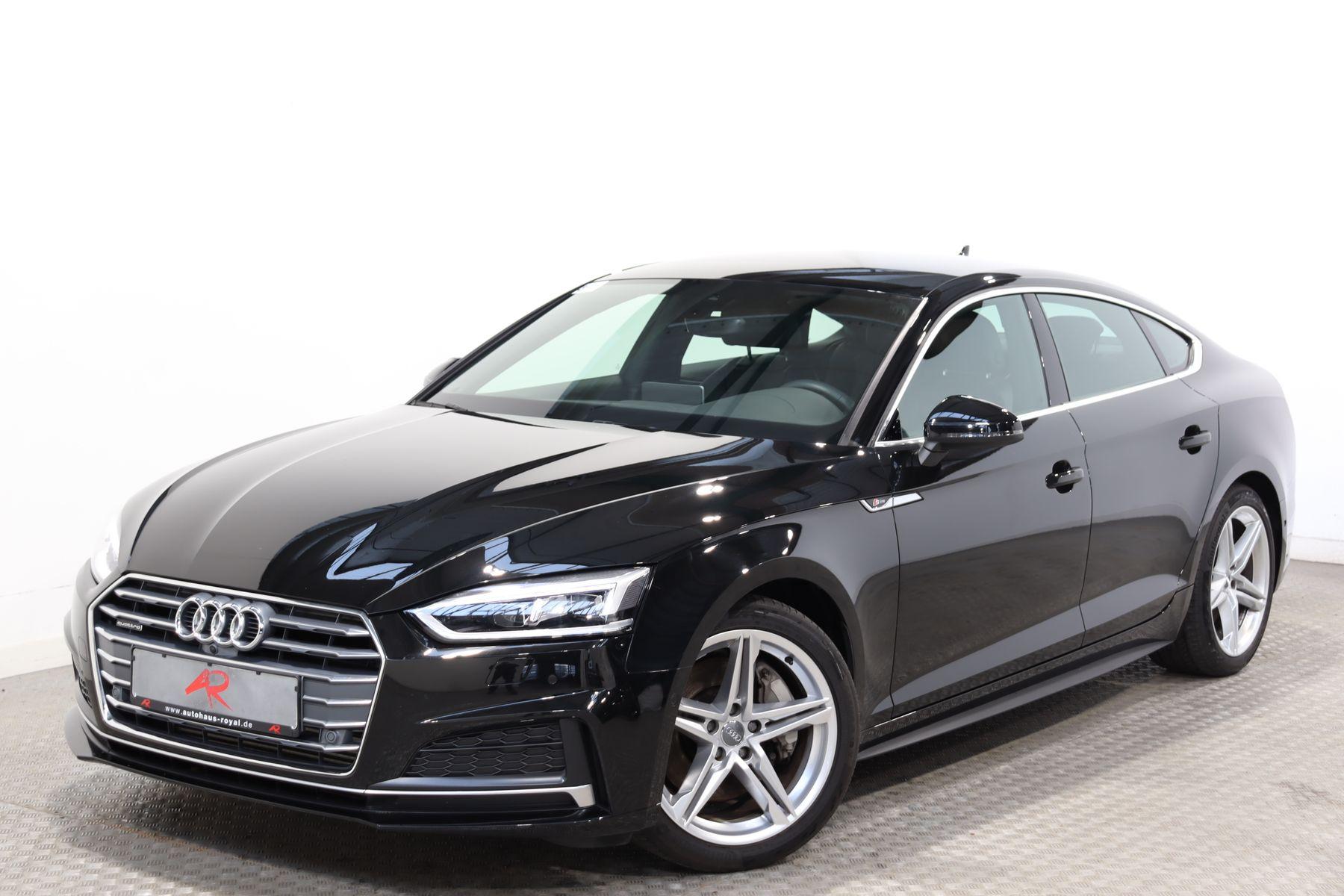 Audi A5 SB 2.0 TFSI qu 3x S LINE 360GRAD,PARKASSIST, Jahr 2018, Benzin