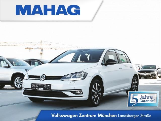 "Volkswagen Golf VII IQ.DRIVE 1.0 TSI 6-Gang - Navigationssystem ""Discover Media"" - ""Blind Spot""-Sensor ""Plus"" mit Ausparkassistent, inkl. Spurhalteassistent - ""Park Assist"" inkl. Einparkhilfe - ""Air Care Climatronic"" mit 2-Zonen - ACC Golf 1,0 CL BT085 TSIM6F, Jahr 2019, petrol"