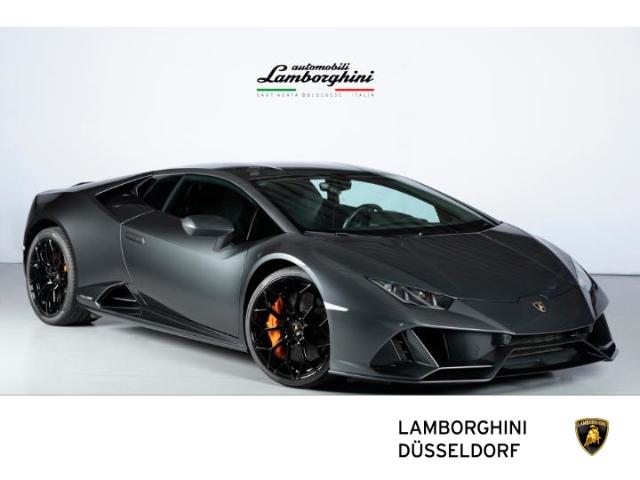 Lamborghini Huracan EVO Coupe Grigio Lynx, Carbon Package, Jahr 2020, Benzin