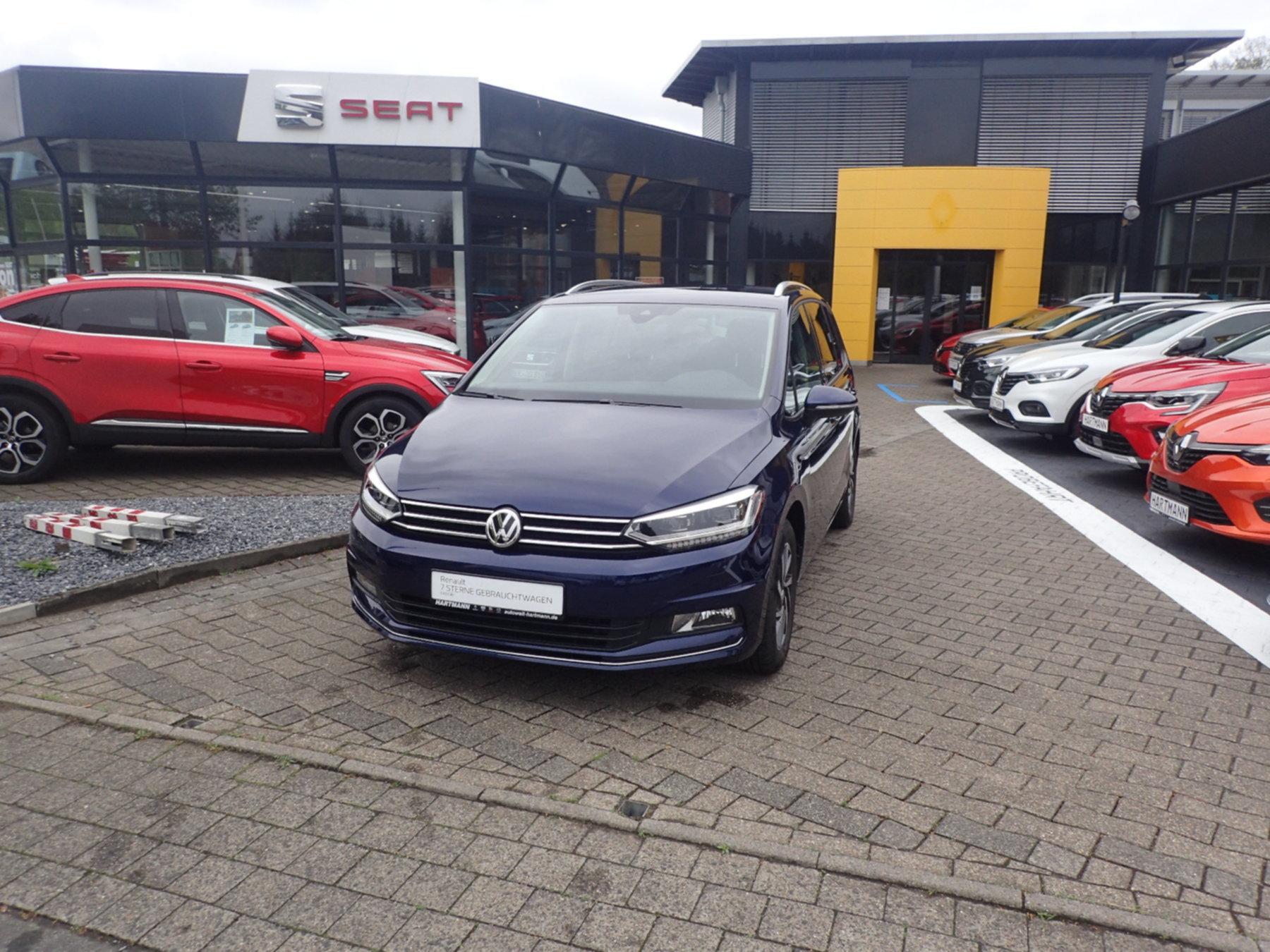 Volkswagen Touran 1.4 TSI BMT 7-Gang DSG Anhängerkupplung, Jahr 2017, Benzin