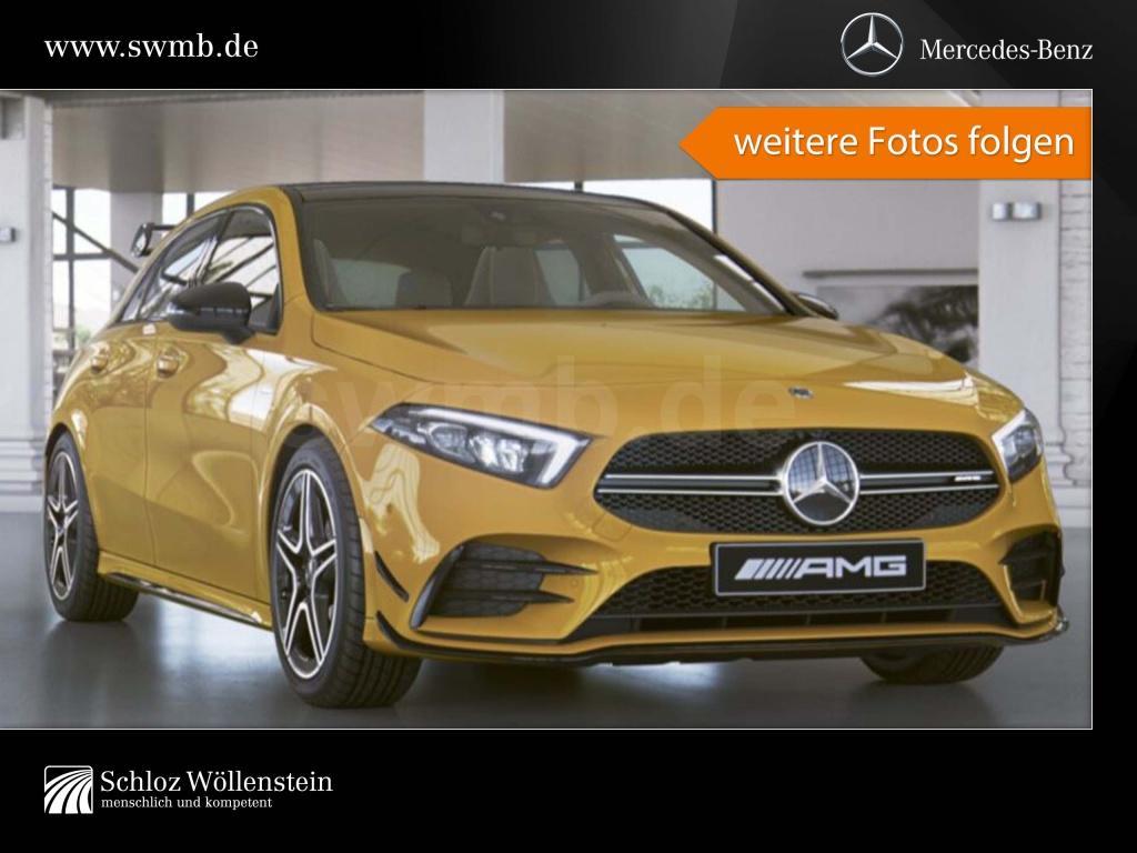 Mercedes-Benz A 35 4M AMG NIGHT/LED/perf. Sitze/Pano-D/RfCam, Jahr 2019, Benzin