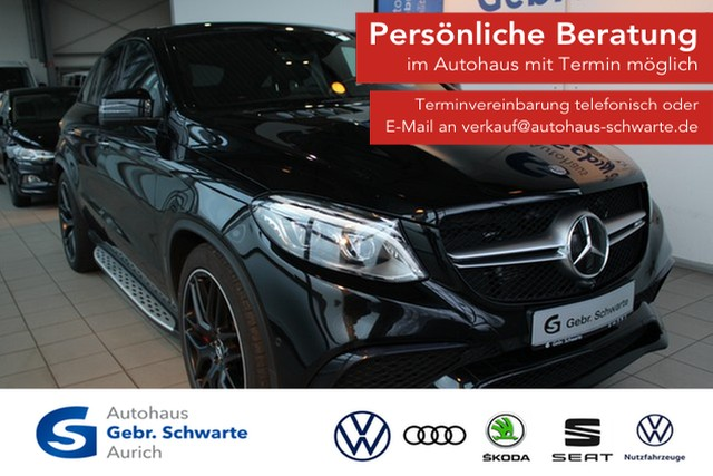 "Mercedes-Benz GLE 63 AMG S Coupe 4Matic Luft Pano LED LM 22"", Jahr 2016, petrol"