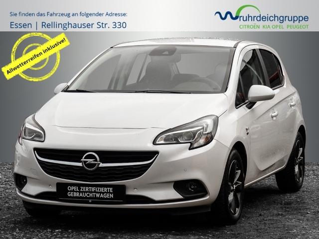 Opel Corsa E 120 Jahre 1.4T *Navi+Kamera+Allwetter+Xenon*, Jahr 2019, Benzin