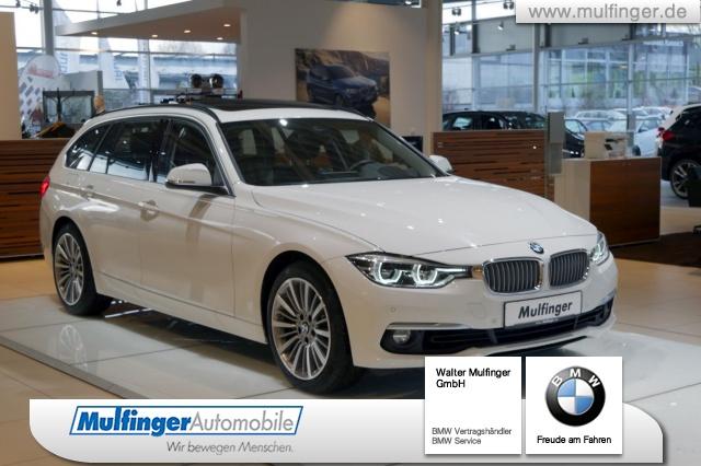 BMW 340i xDrive Touring Luxury AHK Pano HiFi HUD DrAs, Jahr 2019, petrol