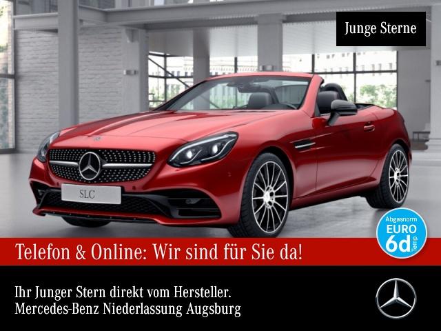 Mercedes-Benz SLC 300 AMG Pano Harman Distr. COMAND ILS LED PTS, Jahr 2019, Benzin