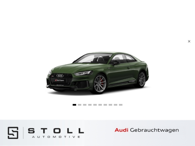 Audi RS5 Coupe RS-AbGas+Navi+HUD+Rückfahrkamera+MatrixLED+B&O+++, Jahr 2018, Benzin