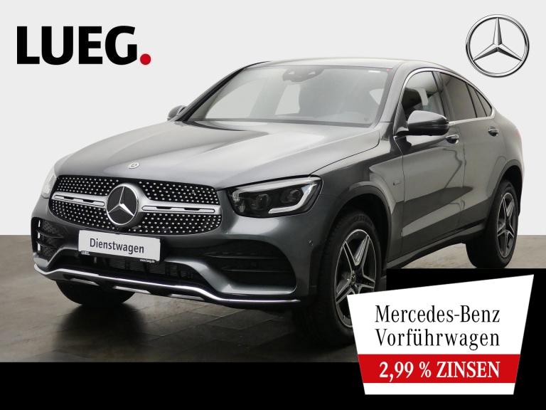Mercedes-Benz GLC 300 de 4M Coupé AMG+AHK+360°+MULTIBEAM+TOTW., Jahr 2021, Hybrid_Diesel
