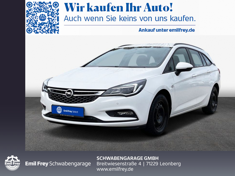 Opel Astra 1.6 D Sports Tourer Edition *NAVI *PDC *SHZ, Jahr 2017, Diesel
