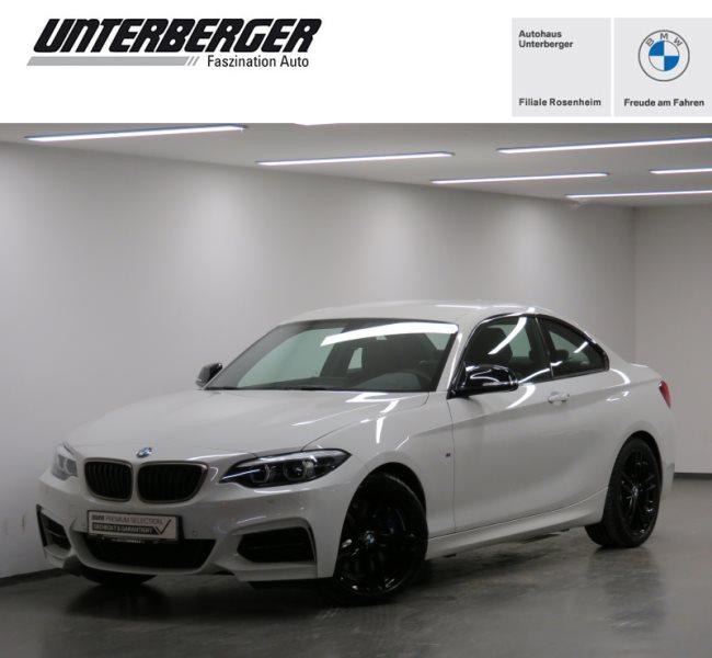 BMW M240i Coupé HiFi WLAN Navi Prof. Tempomat Shz, Jahr 2020, Benzin
