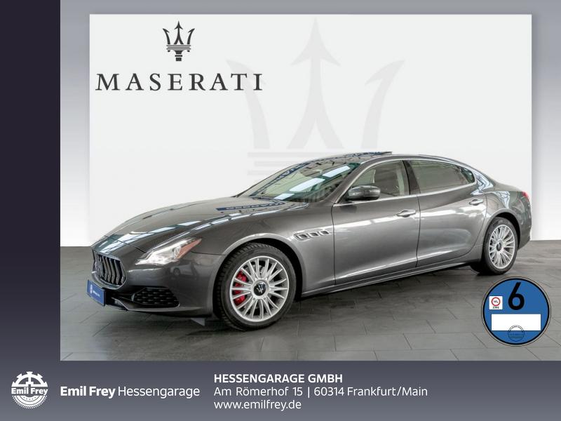 Maserati Quattroporte ACC 360° Kamera Naturleder Glasd, Jahr 2016, Diesel