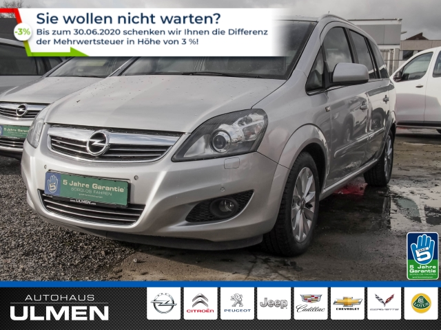 Opel Zafira B Family Plus 1.7 CDTI Xenon Tempomat Klimaauto.Sitzheizung PDCvo+hi RadioCD Alu, Jahr 2013, Diesel