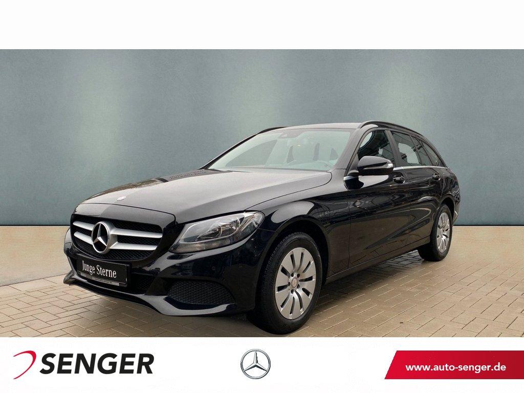 Mercedes-Benz C 220 T BT Navi AHK Sitzheizung Parkassistent, Jahr 2014, Diesel
