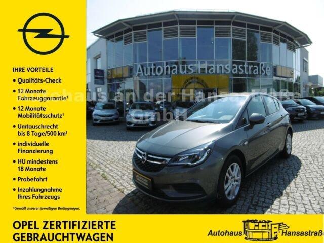 Opel Astra 1.4 DI Turbo Edition 110kW, Jahr 2017, Benzin
