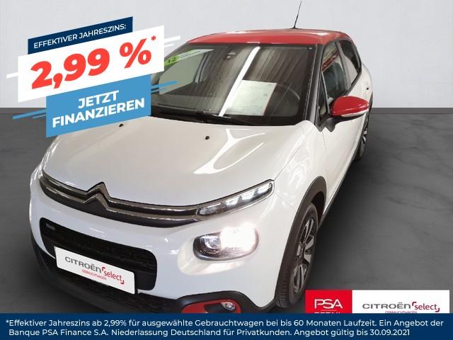 Citroën C3 Pure Tech 82 FEEL, Jahr 2017, Benzin